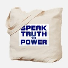 SPEAK TRUTH TO POWER Tote Bag