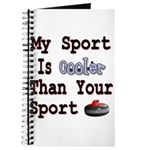 My Sport is Cooler Than Your Journal