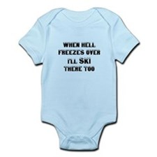 Unique When hell freezes Infant Bodysuit