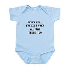 Funny Hell freezes Infant Bodysuit