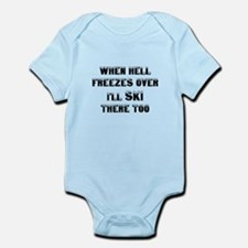 Unique Hell freezes Infant Bodysuit