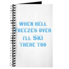 Funny Hell freezes Journal