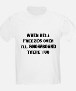 Funny Snowboard T-Shirt