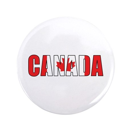 "Canada 3.5"" Button (100 pack)"