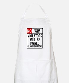 No Horde Zone BBQ Apron