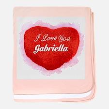 Gabriella baby blanket