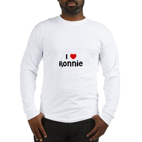 I * Ronnie Long Sleeve T-Shirt