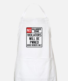No Alliance Zone BBQ Apron