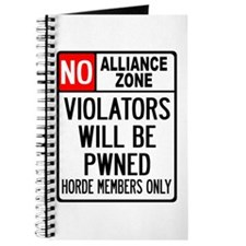 No Alliance Zone Journal