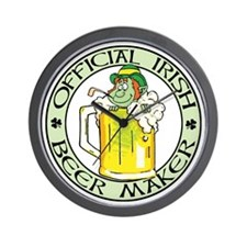 Irish Beer Maker (1) Wall Clock