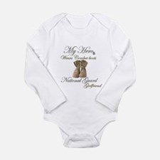 National Guard Long Sleeve Infant Bodysuit
