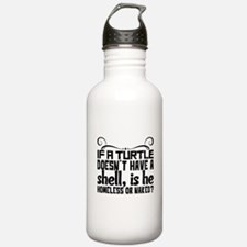 Red Thermos®  Bottle (12oz)