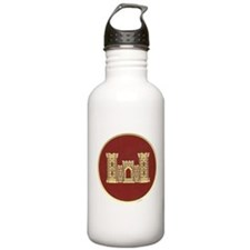 Army Engineer Sports Water Bottle