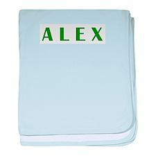 Alex baby blanket