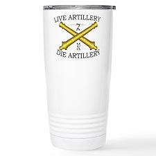 2nd Bn 32nd Field Artillery Travel Mug