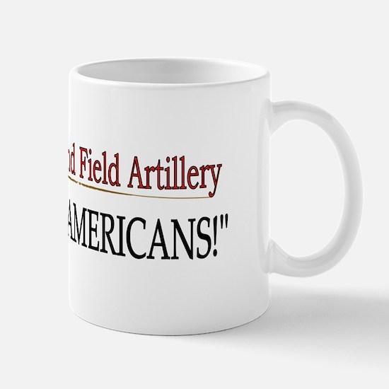2nd Bn 32nd Field Artillery Mug