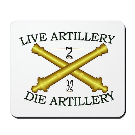 2nd Bn 32nd Field Artillery Mousepad