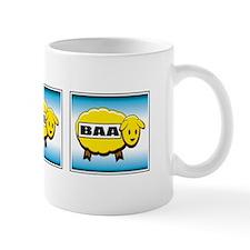 Three Gold Baa's Mug