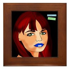 district818 custom digital il Framed Tile