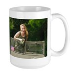 Army Jill and the WW2 GPW Large Mug