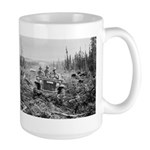 The 1/4-ton 4x4 in Alaska Large Mug