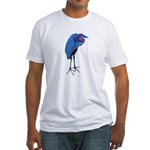 goliath heron 2 Fitted T-Shirt