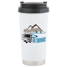RV SNOWBIRDS Travel Coffee Mug