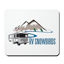 RV SNOWBIRDS Mousepad