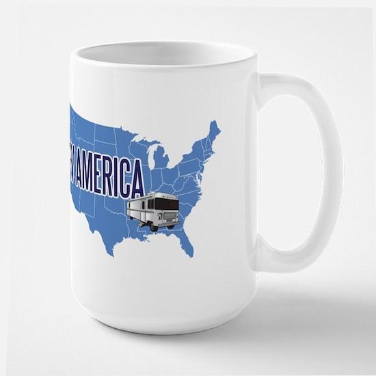 RV AMERICA Large Mug