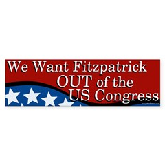 Get Mike Fitzpatrick Out Of Congress sticker