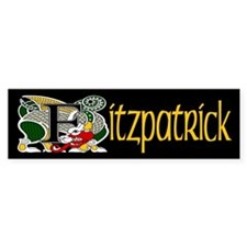 Fitzpatrick Celtic Dragon Bumper Bumper Stickers