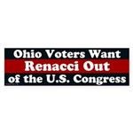 Ohio Wants Renacci OUT bumper sticker