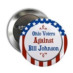Ohio Voters Against Bill Johnson button