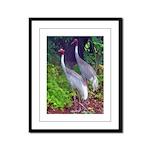 cranes Framed Panel Print