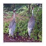 cranes Tile Coaster