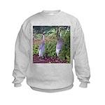 cranes Kids Sweatshirt