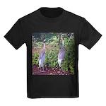 cranes Kids Dark T-Shirt