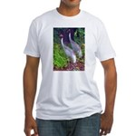 cranes Fitted T-Shirt
