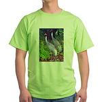 cranes Green T-Shirt