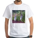 cranes White T-Shirt