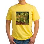cranes Yellow T-Shirt