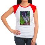 cranes Women's Cap Sleeve T-Shirt