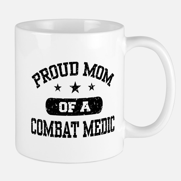 Proud Combat Medic Mom Small Small Mug