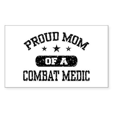 Proud Combat Medic Mom Sticker (Rectangle)