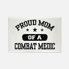 Proud Combat Medic Mom Rectangle Magnet