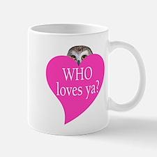 owl valentine Mug