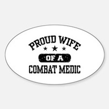 Proud Combat Medic Wife Decal