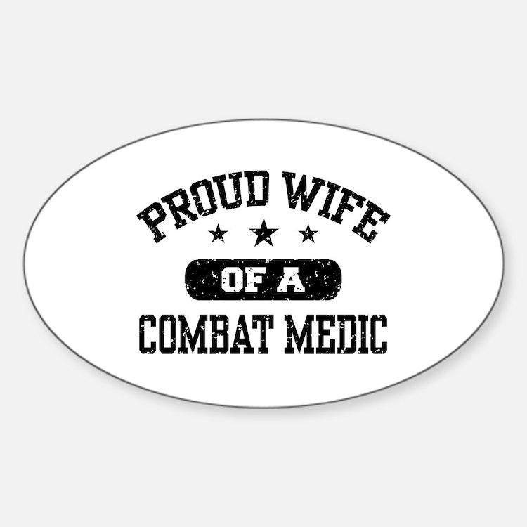 Proud Combat Medic Wife Decal