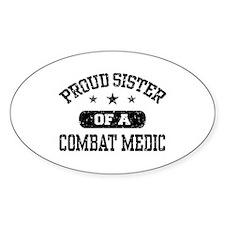 Proud Combat Medic Sister Decal