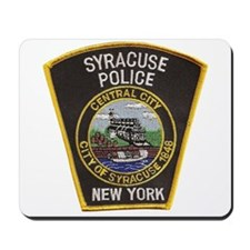 Syracuse Police Department Mousepad